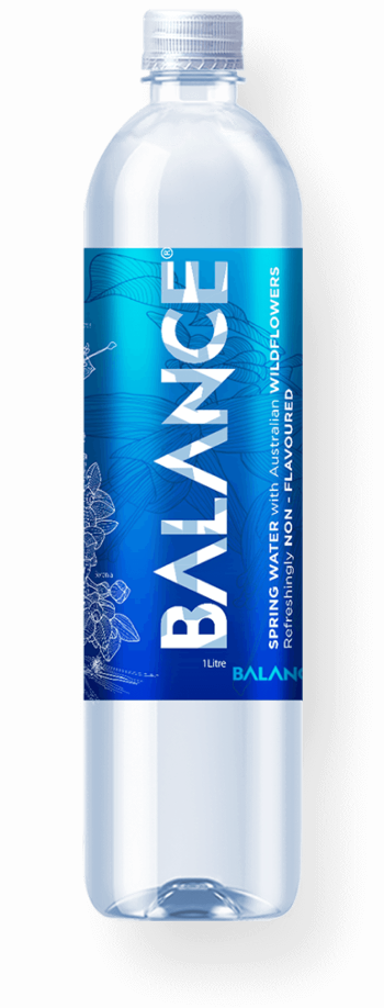 Balance water bottle