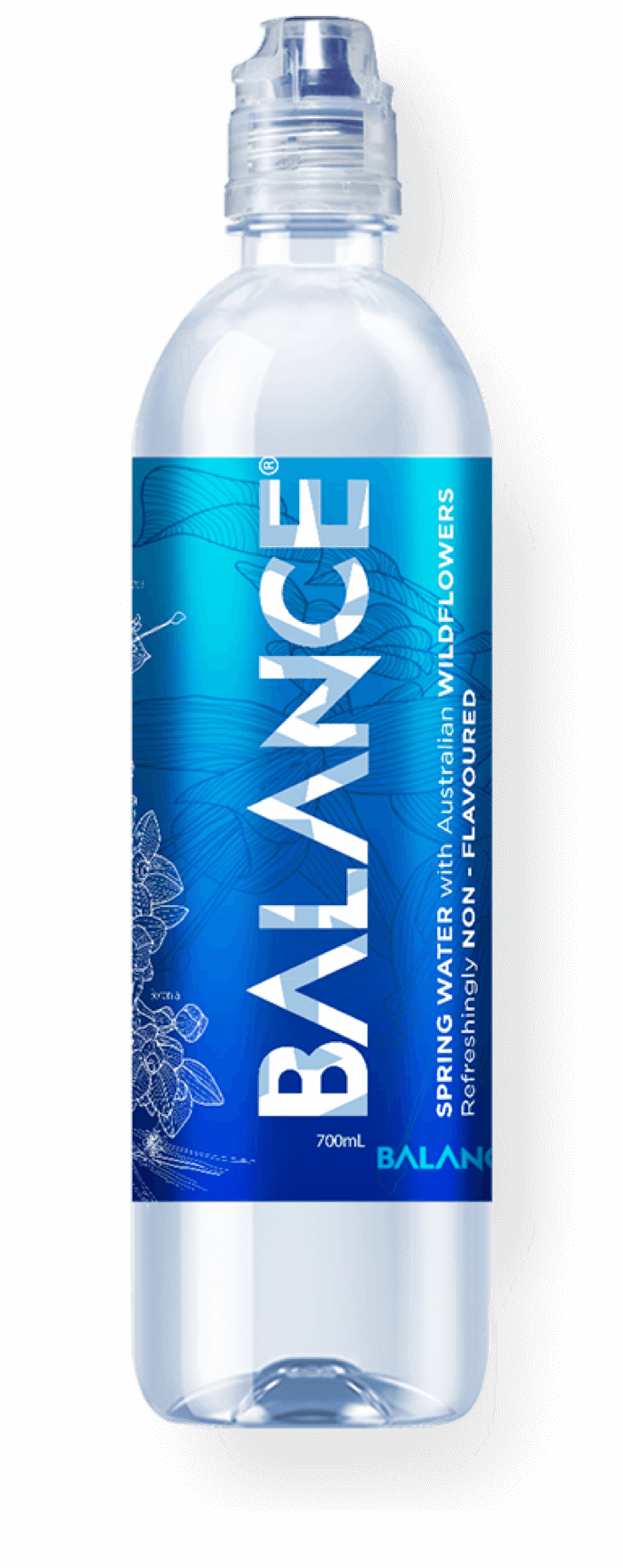 Balance sports water bottle